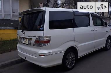 Характеристики Toyota Alphard Минивэн