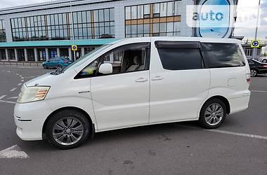 Характеристики Toyota Alphard Мінівен