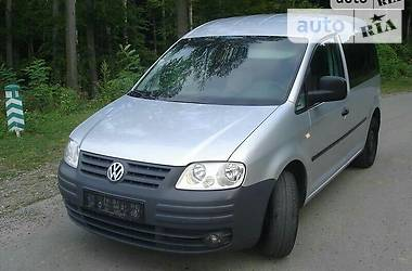 Характеристики Volkswagen Caddy пасс. Минивэн
