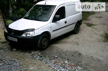 Характеристики Opel Combo груз. Минивэн