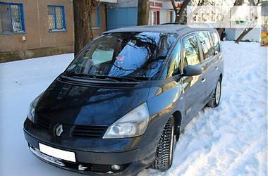 Характеристики Renault Espace Минивэн