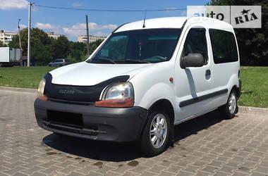 Характеристики Renault Kangoo пасс. Минивэн