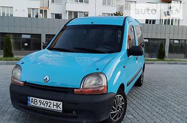 Характеристики Renault Kangoo пасс. Мінівен