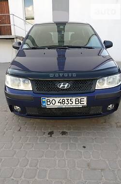 Характеристики Hyundai Matrix Мінівен