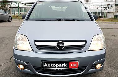 Характеристики Opel Meriva Минивэн