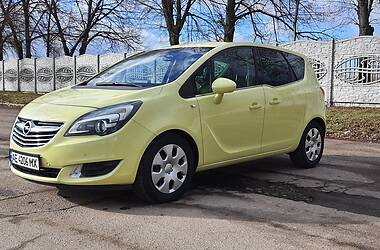 Характеристики Opel Meriva Мінівен