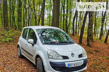 Характеристики Renault Modus Мінівен