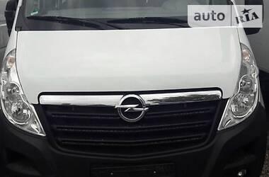 Характеристики Opel Movano пасс. Минивэн