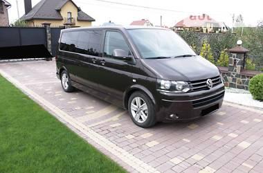 Характеристики Volkswagen Multivan Мінівен