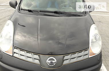 Характеристики Nissan Note Минивэн