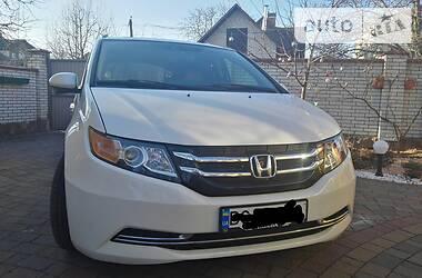 Характеристики Honda Odyssey Мінівен