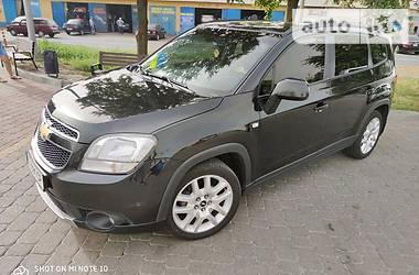 Характеристики Chevrolet Orlando Минивэн