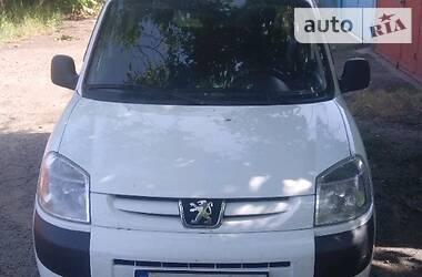 Характеристики Peugeot Partner груз. Минивэн