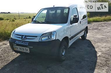 Характеристики Peugeot Partner пасс. Минивэн
