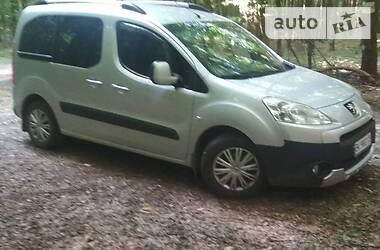 Характеристики Peugeot Partner пасс. Мінівен
