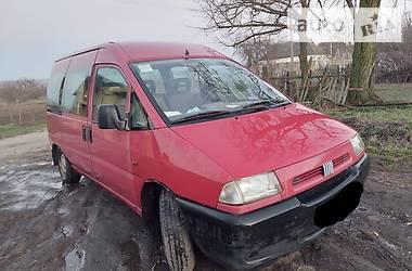 Характеристики Fiat Scudo пасс. Минивэн