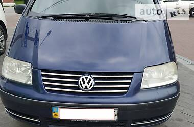 Характеристики Volkswagen Sharan Мінівен