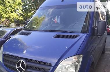 Характеристики Mercedes-Benz Sprinter 316 пасс. Минивэн