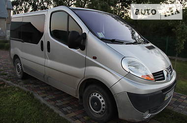 Характеристики Renault Trafic пасс. Минивэн