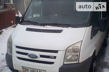 Характеристики Ford Transit пасс. Минивэн