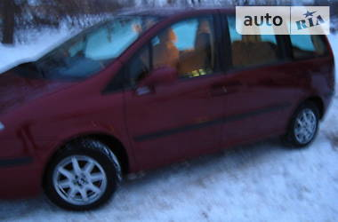 Характеристики Fiat Ulysse Мінівен
