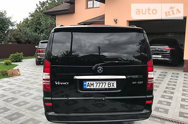 Характеристики Mercedes-Benz Viano пасс. Минивэн