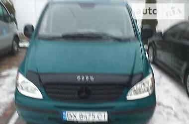 Характеристики Mercedes-Benz Vito пасс. Минивэн
