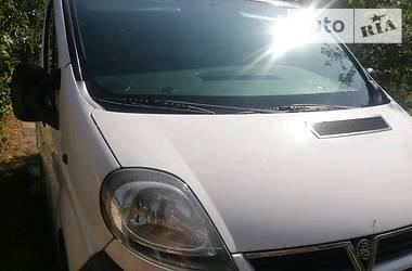 Характеристики Opel Vivaro пасс. Минивэн