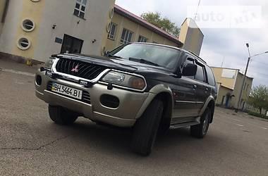 Mitsubishi Pajero Sport  2001