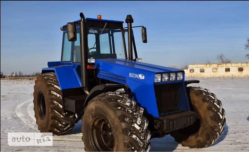 Как сделать трактор бизон
