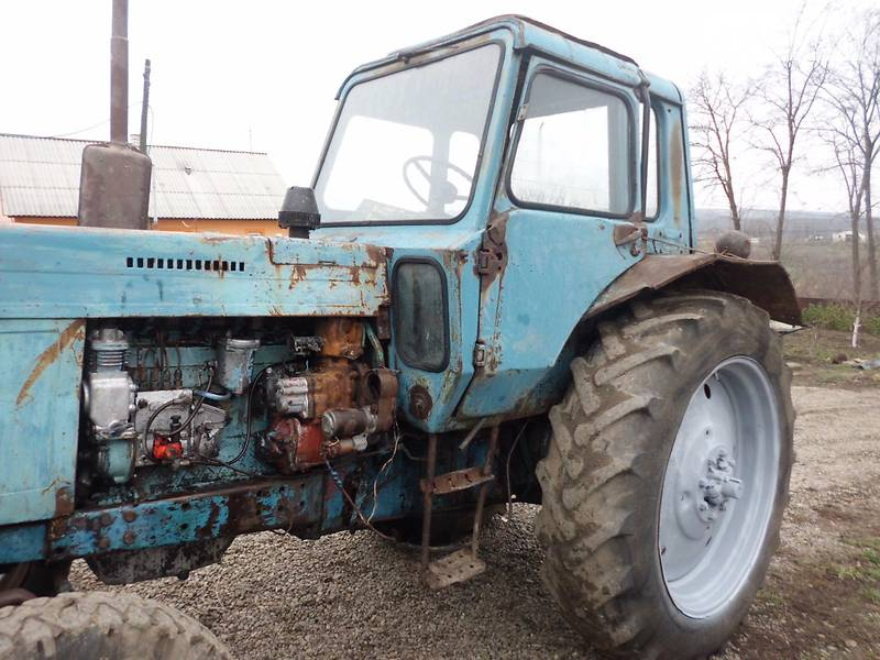 Восстановленные трактора МТЗ 82 И МТЗ 80 - YouTube