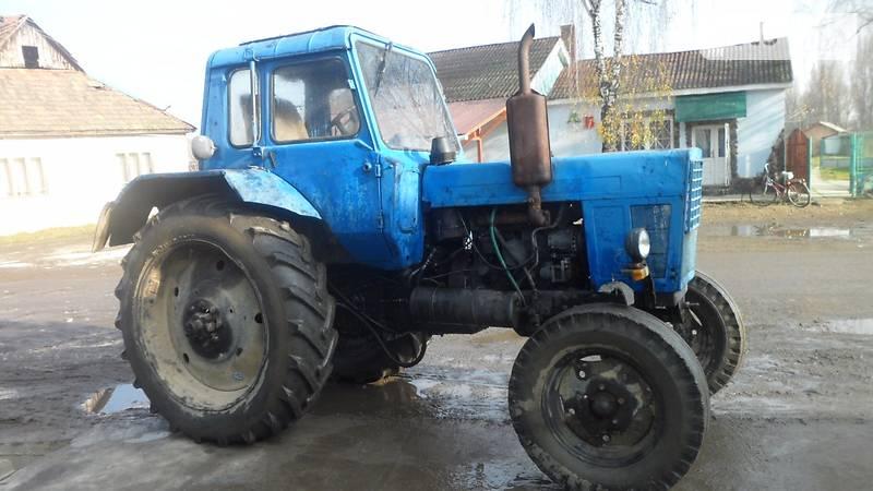Модельный ряд тракторов МТЗ Беларус, навесного.