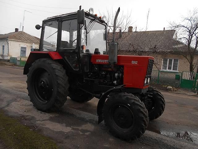 Трактор Беларусь МТЗ-82: устройство, управление.