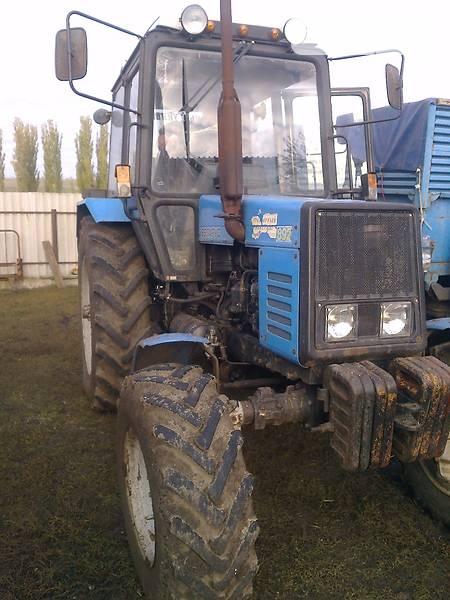 Технические характеристики трактора МТЗ-1221.2 (Беларус.