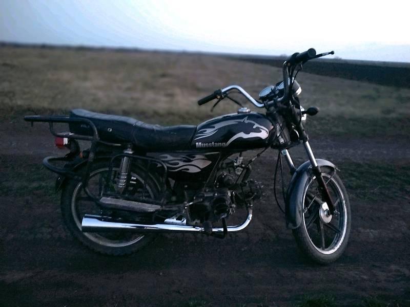 Мотоциклы Musstang MT 110
