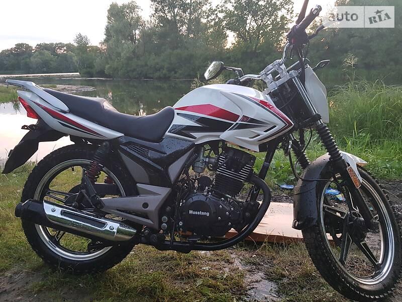 Мотоциклы Musstang MT 200-8