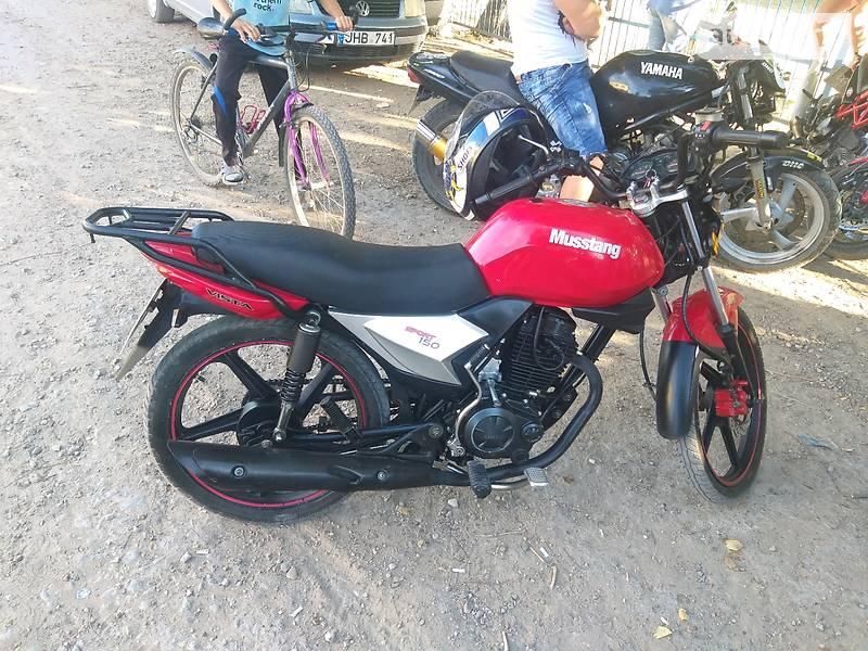 Мотоциклы Musstang MT150