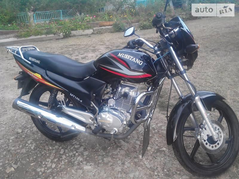 Мотоциклы Musstang MT