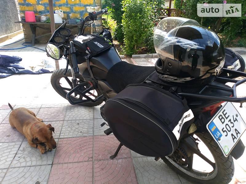 Мотоциклы Musstang Vista