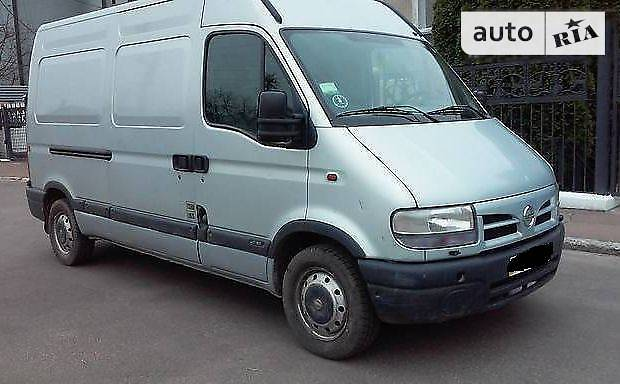 Nissan Interstar 2004 года