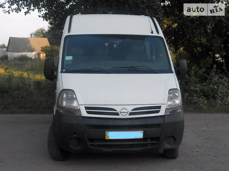 Nissan Interstar 2006 года