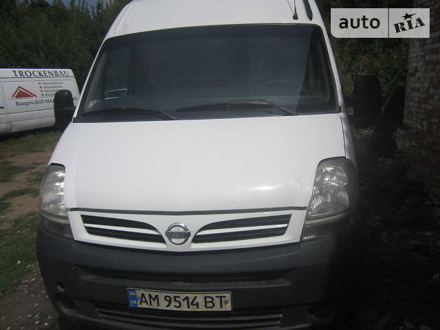Nissan Interstar 2008 года