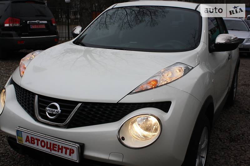 Nissan Juke 2014 года