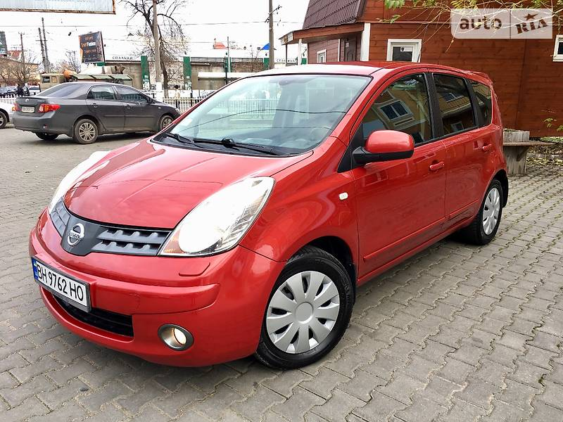 Nissan Note 2009 года