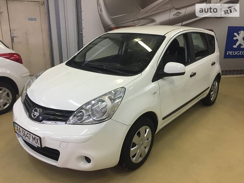 Nissan Note 2013 года