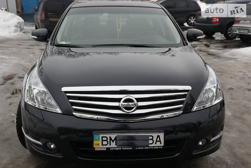 Nissan Teana 2012 года