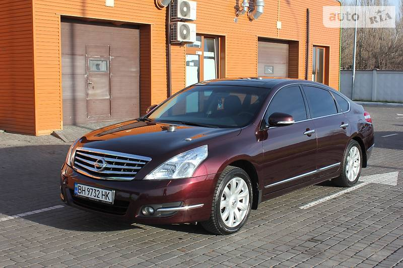 Nissan Teana 2009 года