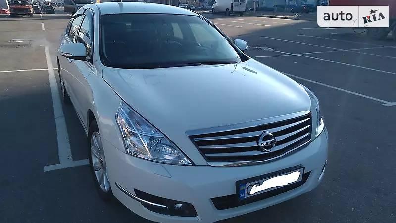 Nissan Teana 2010 года