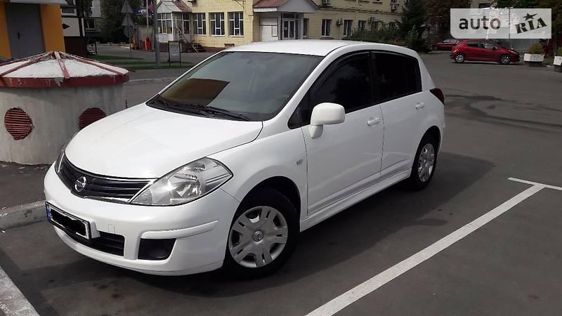Nissan Tiida 2013 года