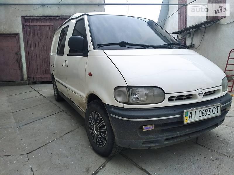 Nissan Vanette груз.-пасс.
